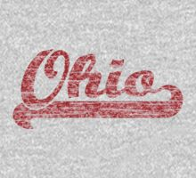 Ohio Vintage (Scarlet) One Piece - Long Sleeve
