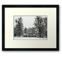 Iron Gate, Petworth Park. Framed Print