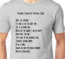 Fictional Character Survival Guide Unisex T-Shirt