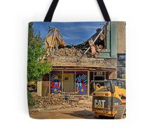 End of Heros Headquaters Tote Bag