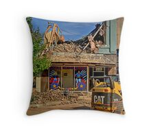 End of Heros Headquaters Throw Pillow