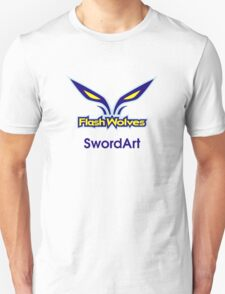 Flash Wolves - SwortArt T-Shirt