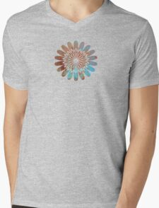 Colors  - JUSTART ©  Mens V-Neck T-Shirt