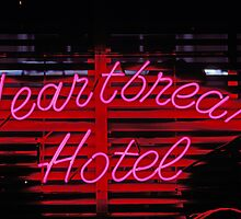 Heartbreak hotel neon by Garry Gay