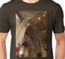 Altar of the Reservation (Chancel) - St. Mary's Historical Church Unisex T-Shirt