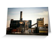 Sugar Factory - Brooklyn - New York City Greeting Card