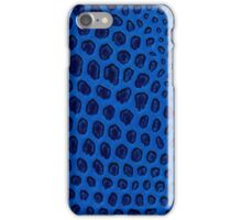 Blue texture iPhone Case/Skin
