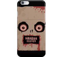 Psycho Sack Monkey iPhone Case iPhone Case/Skin