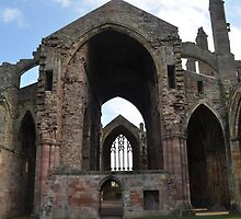12th Century Abbey in Scottland by Phil  Neuman