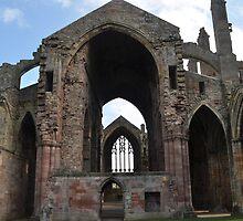 12th Century Abbey in Scottland by Phil  Neuman