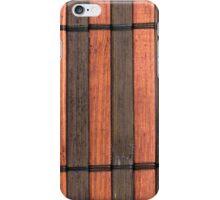 Japanese reed mat iPhone Case/Skin