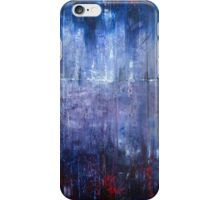 Abstract Purple Landscape iPhone Case/Skin