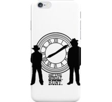 Eight o'clock, runt. iPhone Case/Skin