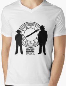 Eight o'clock, runt. Mens V-Neck T-Shirt