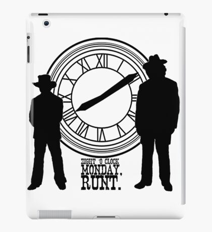 Eight o'clock, runt. iPad Case/Skin