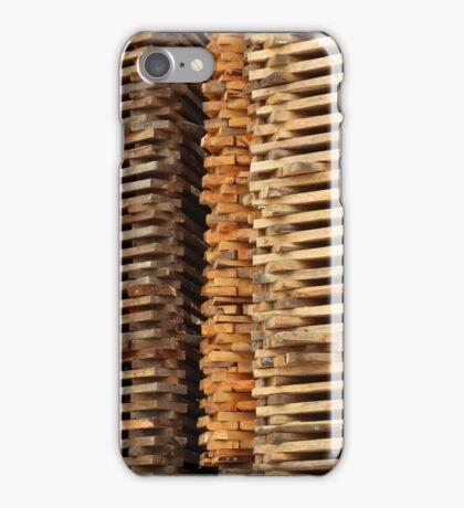 Stacked Cut Lumber iPhone Case/Skin