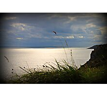 The Gower Sunset, Swansea Photographic Print