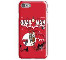 The Dark Quail iPhone Case/Skin