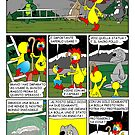 "Rick the chick  ""THE MAGIC SHELL (Il sacro pollo) parte 20"" by CLAUDIO COSTA"