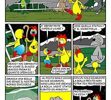 """Rick the chick  """"THE MAGIC SHELL (Il sacro pollo) parte 20"""" by CLAUDIO COSTA"""
