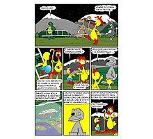 """Rick the chick  """"THE MAGIC SHELL (Il sacro pollo) parte 20"""" Photographic Print"""