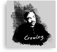 Crowley- Darkness & Deliverance Canvas Print