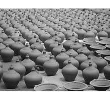 Pots, Pots and More Pots Photographic Print