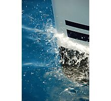 Bow Splash Photographic Print