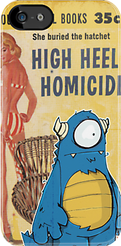 High Heal Homicide I-phone case. by urbnpop