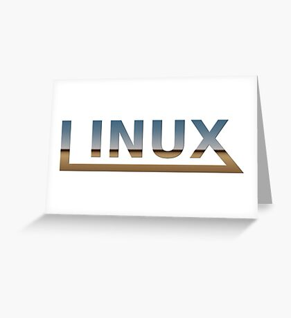 Linux Greeting Card