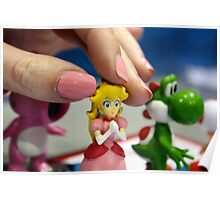 Princess Peach Pawn Poster