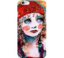 Circus Girl iPhone Case/Skin