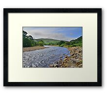 Yorkshire: The River Swale Framed Print