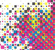 cmyk squares 01 by candygun