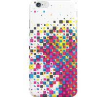 cmyk squares 01 iPhone Case/Skin