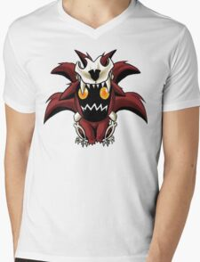 Chibi Nine Tailed Fox Mens V-Neck T-Shirt