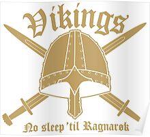 Vikings - No sleep til Ragnaroek Poster