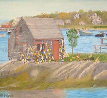 Bailey Island Fishing Shed by artofjackmck