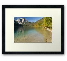 Lake Langbathsee Framed Print