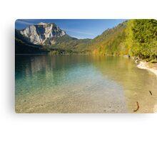 Lake Langbathsee Canvas Print