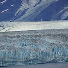 Hubbard Glacier - close up by Braedene