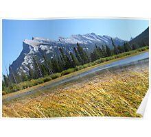 Mount Rundle, Banff National Park Poster