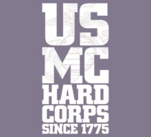 USMC Hard Corps (White) by BiggStankDogg