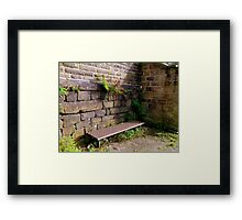 Feeling Low Framed Print