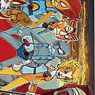 Urbnpop - Thundercats I-phone case by urbnpop