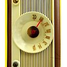 Vintage Radio by Delights
