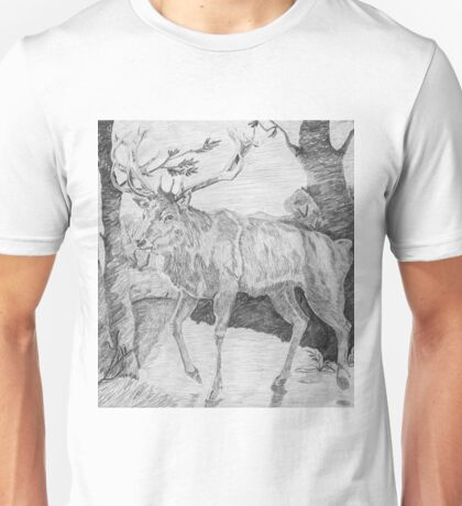 Persian Fallow Deer Unisex T-Shirt