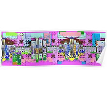 pinky town Poster