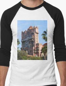 Hollywood Studios Tower of Terror Men's Baseball ¾ T-Shirt