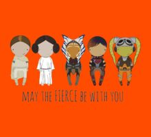 May the FIERCE be with you Kids Clothes